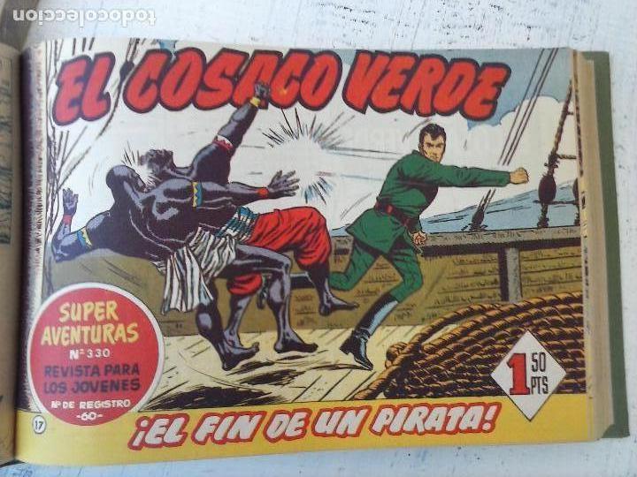 Tebeos: EL COSACO VERDE COMPLETA ORIGINAL 1 A 144 - EN MAGNÍFICO ESTADO, VER NUMEROSAS IMÁGENES, DE LUJO - Foto 70 - 125098099