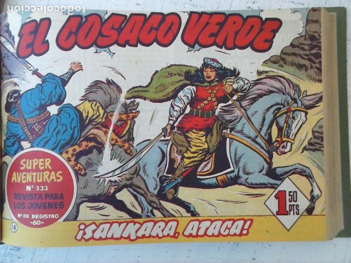 Tebeos: EL COSACO VERDE COMPLETA ORIGINAL 1 A 144 - EN MAGNÍFICO ESTADO, VER NUMEROSAS IMÁGENES, DE LUJO - Foto 77 - 125098099
