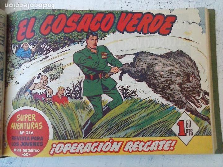 Tebeos: EL COSACO VERDE COMPLETA ORIGINAL 1 A 144 - EN MAGNÍFICO ESTADO, VER NUMEROSAS IMÁGENES, DE LUJO - Foto 82 - 125098099