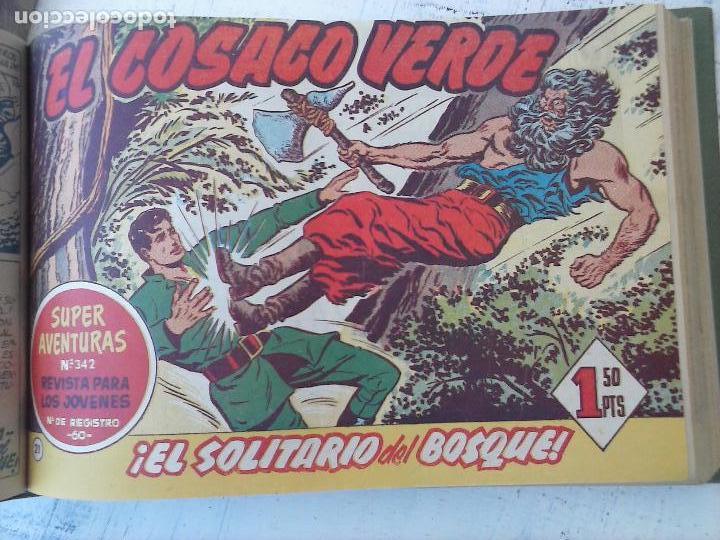 Tebeos: EL COSACO VERDE COMPLETA ORIGINAL 1 A 144 - EN MAGNÍFICO ESTADO, VER NUMEROSAS IMÁGENES, DE LUJO - Foto 89 - 125098099