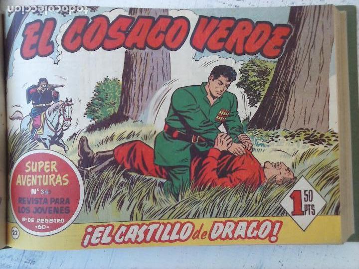 Tebeos: EL COSACO VERDE COMPLETA ORIGINAL 1 A 144 - EN MAGNÍFICO ESTADO, VER NUMEROSAS IMÁGENES, DE LUJO - Foto 94 - 125098099
