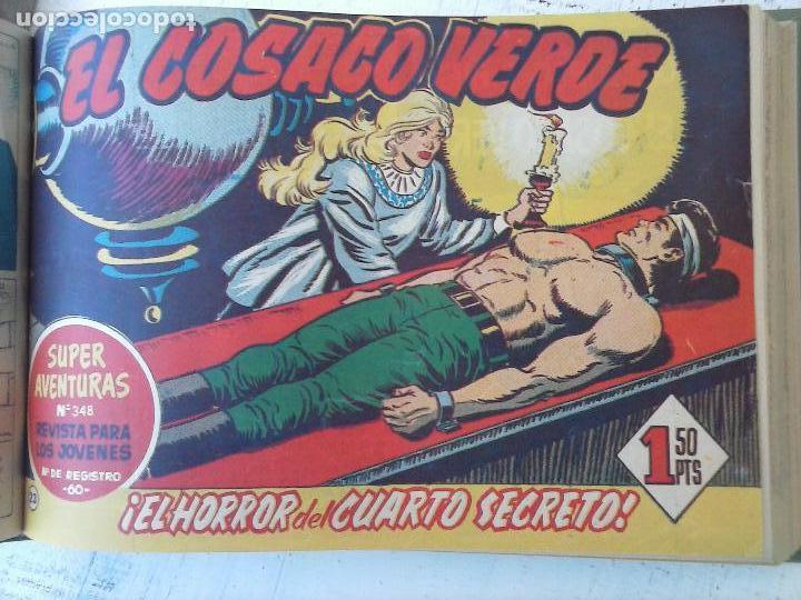Tebeos: EL COSACO VERDE COMPLETA ORIGINAL 1 A 144 - EN MAGNÍFICO ESTADO, VER NUMEROSAS IMÁGENES, DE LUJO - Foto 98 - 125098099