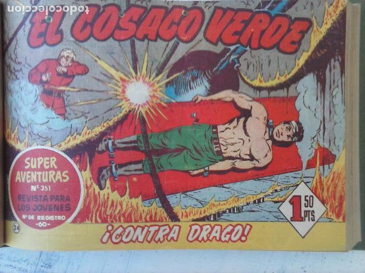 Tebeos: EL COSACO VERDE COMPLETA ORIGINAL 1 A 144 - EN MAGNÍFICO ESTADO, VER NUMEROSAS IMÁGENES, DE LUJO - Foto 101 - 125098099