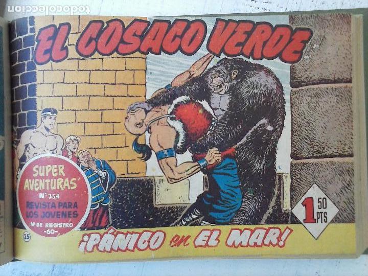 Tebeos: EL COSACO VERDE COMPLETA ORIGINAL 1 A 144 - EN MAGNÍFICO ESTADO, VER NUMEROSAS IMÁGENES, DE LUJO - Foto 106 - 125098099