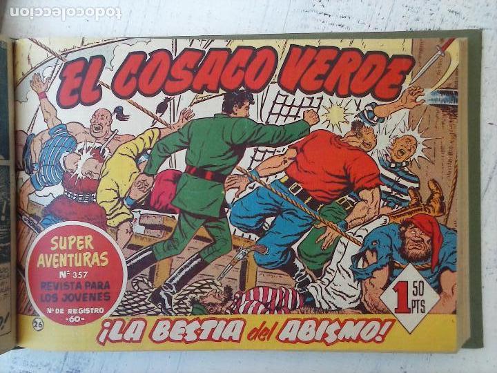 Tebeos: EL COSACO VERDE COMPLETA ORIGINAL 1 A 144 - EN MAGNÍFICO ESTADO, VER NUMEROSAS IMÁGENES, DE LUJO - Foto 109 - 125098099