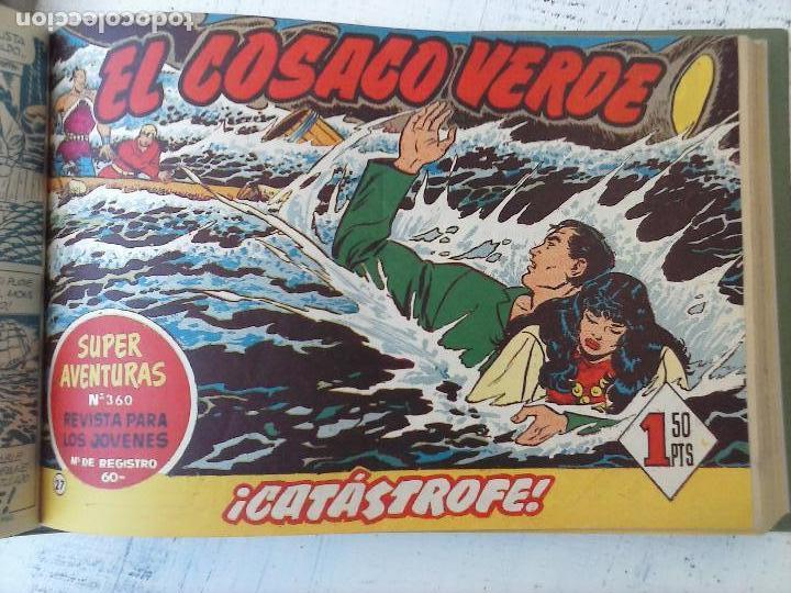Tebeos: EL COSACO VERDE COMPLETA ORIGINAL 1 A 144 - EN MAGNÍFICO ESTADO, VER NUMEROSAS IMÁGENES, DE LUJO - Foto 114 - 125098099