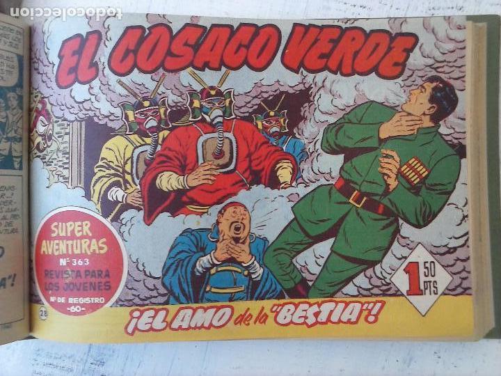 Tebeos: EL COSACO VERDE COMPLETA ORIGINAL 1 A 144 - EN MAGNÍFICO ESTADO, VER NUMEROSAS IMÁGENES, DE LUJO - Foto 118 - 125098099