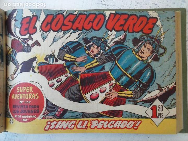 Tebeos: EL COSACO VERDE COMPLETA ORIGINAL 1 A 144 - EN MAGNÍFICO ESTADO, VER NUMEROSAS IMÁGENES, DE LUJO - Foto 123 - 125098099