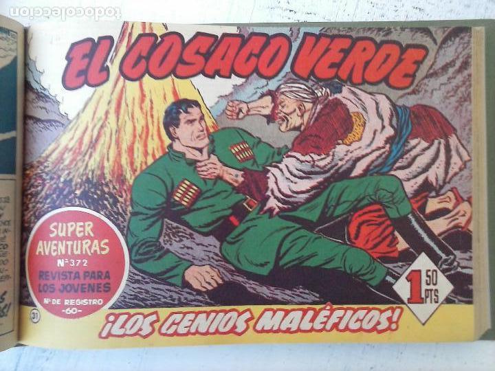 Tebeos: EL COSACO VERDE COMPLETA ORIGINAL 1 A 144 - EN MAGNÍFICO ESTADO, VER NUMEROSAS IMÁGENES, DE LUJO - Foto 125 - 125098099