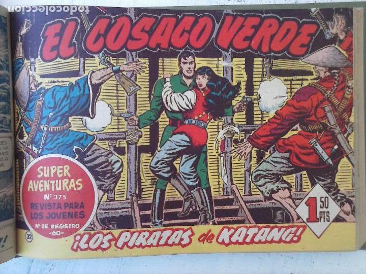 Tebeos: EL COSACO VERDE COMPLETA ORIGINAL 1 A 144 - EN MAGNÍFICO ESTADO, VER NUMEROSAS IMÁGENES, DE LUJO - Foto 129 - 125098099