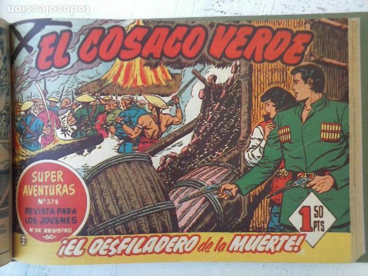 Tebeos: EL COSACO VERDE COMPLETA ORIGINAL 1 A 144 - EN MAGNÍFICO ESTADO, VER NUMEROSAS IMÁGENES, DE LUJO - Foto 133 - 125098099