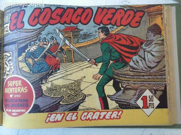 Tebeos: EL COSACO VERDE COMPLETA ORIGINAL 1 A 144 - EN MAGNÍFICO ESTADO, VER NUMEROSAS IMÁGENES, DE LUJO - Foto 148 - 125098099