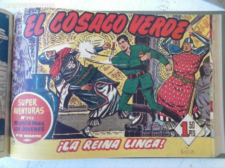 Tebeos: EL COSACO VERDE COMPLETA ORIGINAL 1 A 144 - EN MAGNÍFICO ESTADO, VER NUMEROSAS IMÁGENES, DE LUJO - Foto 152 - 125098099