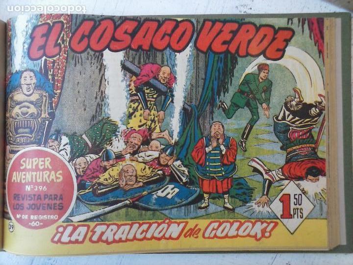 Tebeos: EL COSACO VERDE COMPLETA ORIGINAL 1 A 144 - EN MAGNÍFICO ESTADO, VER NUMEROSAS IMÁGENES, DE LUJO - Foto 156 - 125098099