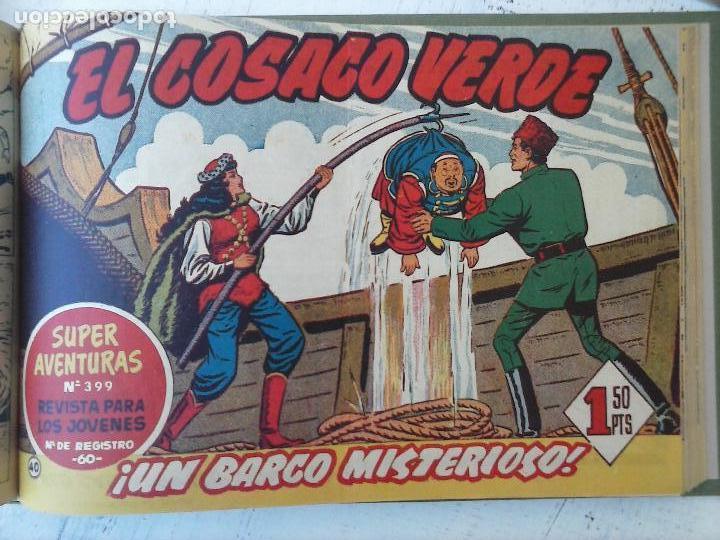 Tebeos: EL COSACO VERDE COMPLETA ORIGINAL 1 A 144 - EN MAGNÍFICO ESTADO, VER NUMEROSAS IMÁGENES, DE LUJO - Foto 160 - 125098099