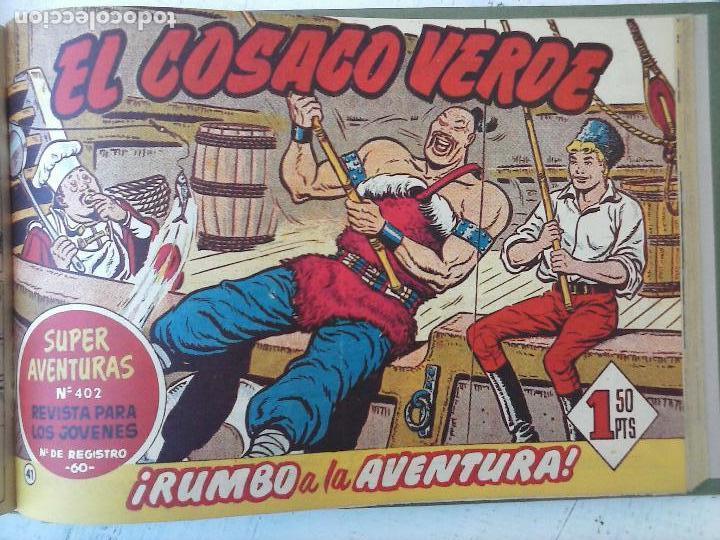 Tebeos: EL COSACO VERDE COMPLETA ORIGINAL 1 A 144 - EN MAGNÍFICO ESTADO, VER NUMEROSAS IMÁGENES, DE LUJO - Foto 164 - 125098099