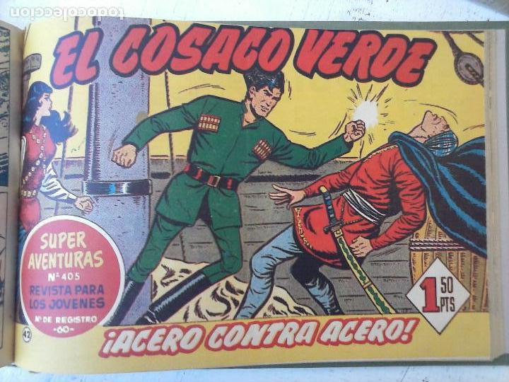 Tebeos: EL COSACO VERDE COMPLETA ORIGINAL 1 A 144 - EN MAGNÍFICO ESTADO, VER NUMEROSAS IMÁGENES, DE LUJO - Foto 167 - 125098099