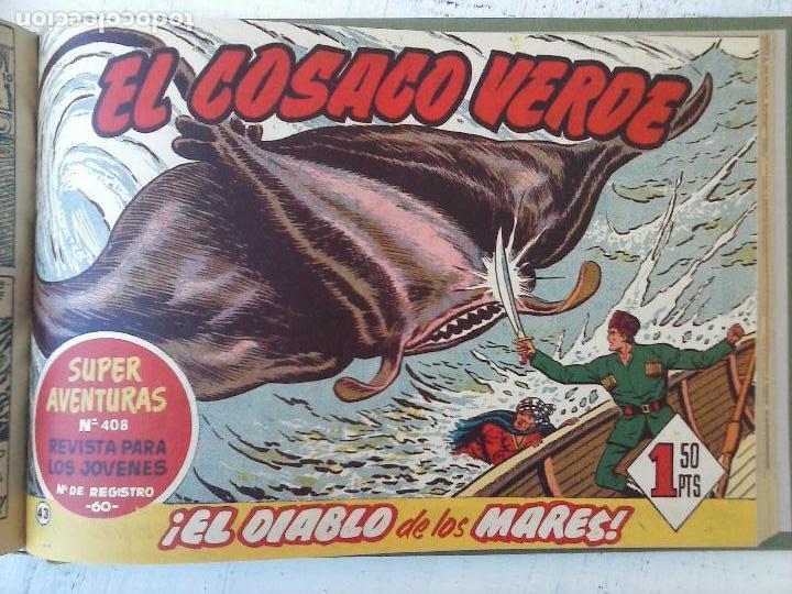 Tebeos: EL COSACO VERDE COMPLETA ORIGINAL 1 A 144 - EN MAGNÍFICO ESTADO, VER NUMEROSAS IMÁGENES, DE LUJO - Foto 172 - 125098099