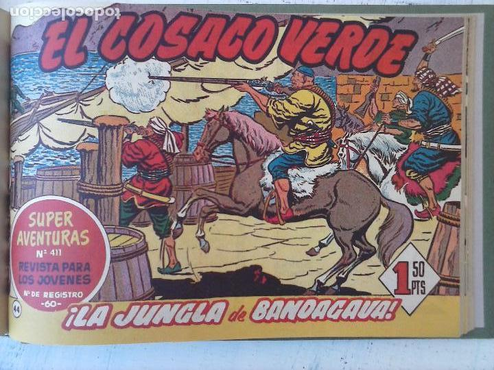 Tebeos: EL COSACO VERDE COMPLETA ORIGINAL 1 A 144 - EN MAGNÍFICO ESTADO, VER NUMEROSAS IMÁGENES, DE LUJO - Foto 178 - 125098099