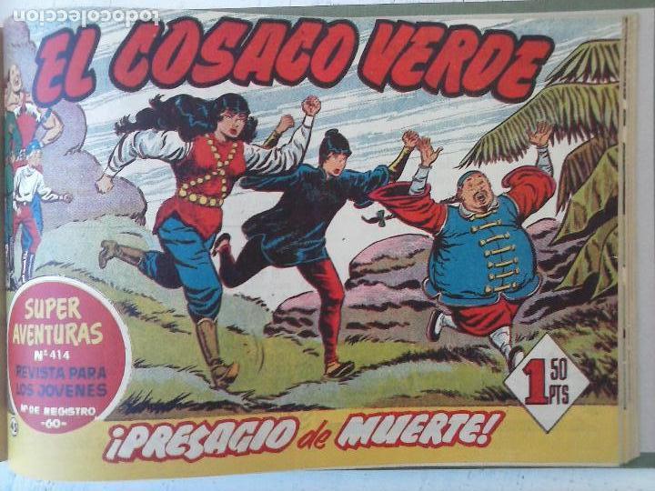Tebeos: EL COSACO VERDE COMPLETA ORIGINAL 1 A 144 - EN MAGNÍFICO ESTADO, VER NUMEROSAS IMÁGENES, DE LUJO - Foto 181 - 125098099