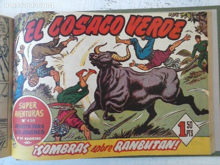 Tebeos: EL COSACO VERDE COMPLETA ORIGINAL 1 A 144 - EN MAGNÍFICO ESTADO, VER NUMEROSAS IMÁGENES, DE LUJO - Foto 191 - 125098099