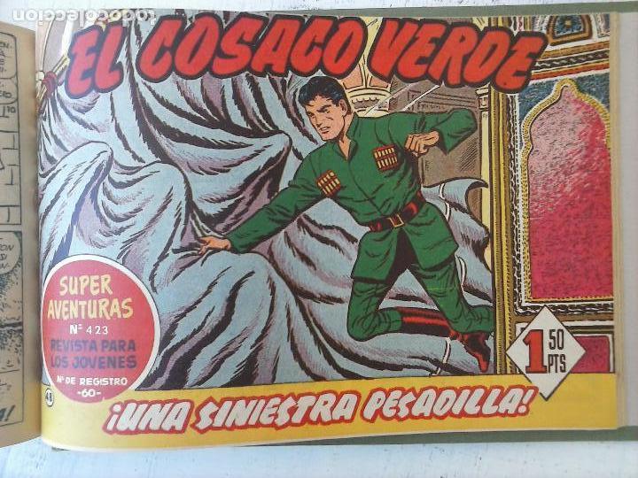 Tebeos: EL COSACO VERDE COMPLETA ORIGINAL 1 A 144 - EN MAGNÍFICO ESTADO, VER NUMEROSAS IMÁGENES, DE LUJO - Foto 195 - 125098099