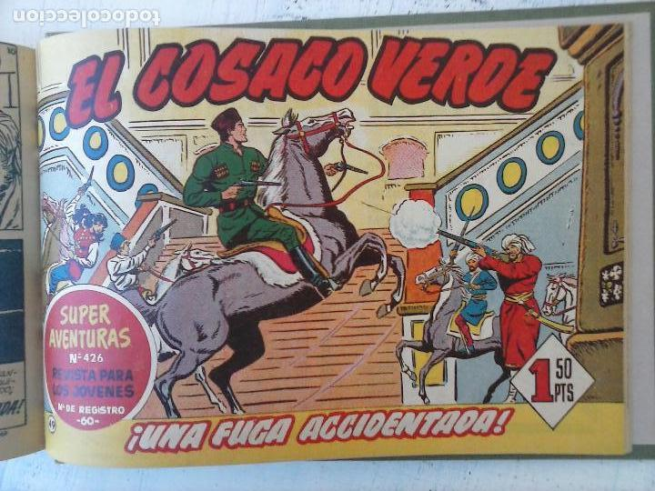 Tebeos: EL COSACO VERDE COMPLETA ORIGINAL 1 A 144 - EN MAGNÍFICO ESTADO, VER NUMEROSAS IMÁGENES, DE LUJO - Foto 196 - 125098099