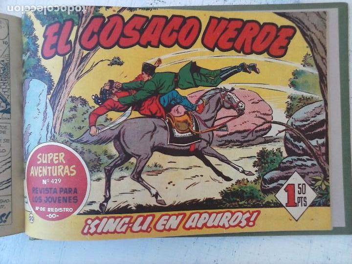 Tebeos: EL COSACO VERDE COMPLETA ORIGINAL 1 A 144 - EN MAGNÍFICO ESTADO, VER NUMEROSAS IMÁGENES, DE LUJO - Foto 199 - 125098099