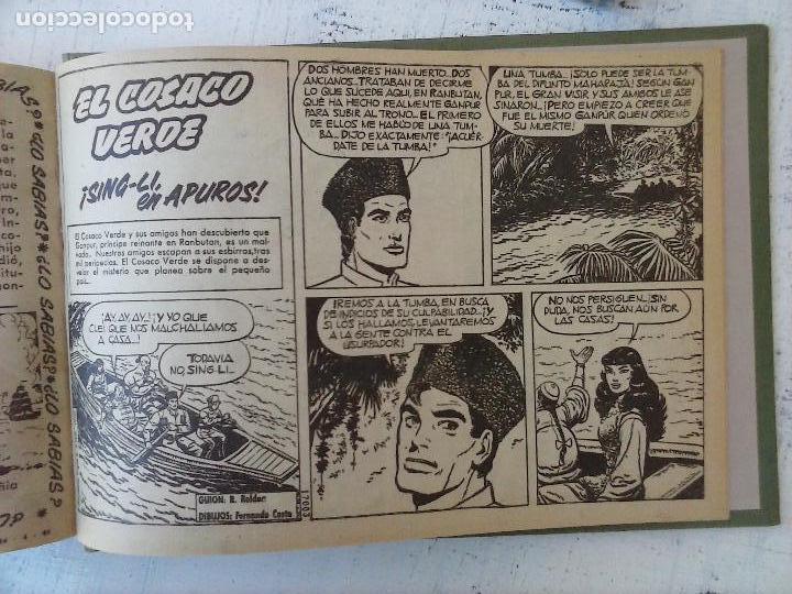 Tebeos: EL COSACO VERDE COMPLETA ORIGINAL 1 A 144 - EN MAGNÍFICO ESTADO, VER NUMEROSAS IMÁGENES, DE LUJO - Foto 200 - 125098099
