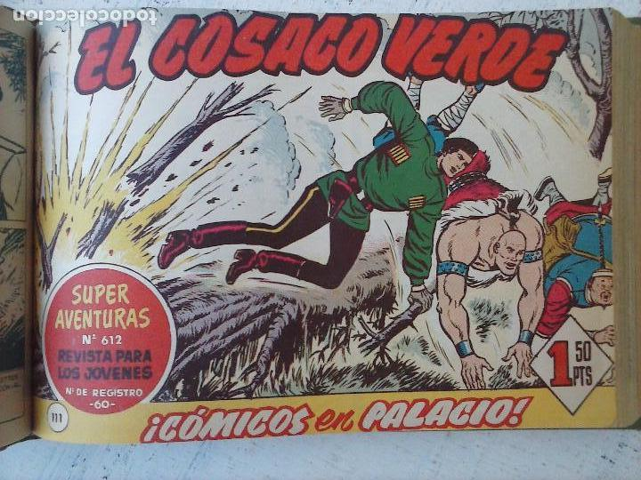 Tebeos: EL COSACO VERDE COMPLETA ORIGINAL 1 A 144 - EN MAGNÍFICO ESTADO, VER NUMEROSAS IMÁGENES, DE LUJO - Foto 204 - 125098099