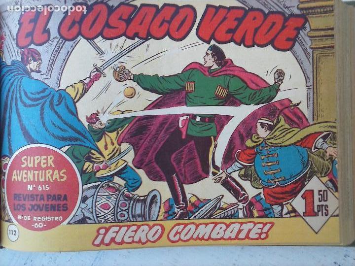 Tebeos: EL COSACO VERDE COMPLETA ORIGINAL 1 A 144 - EN MAGNÍFICO ESTADO, VER NUMEROSAS IMÁGENES, DE LUJO - Foto 206 - 125098099