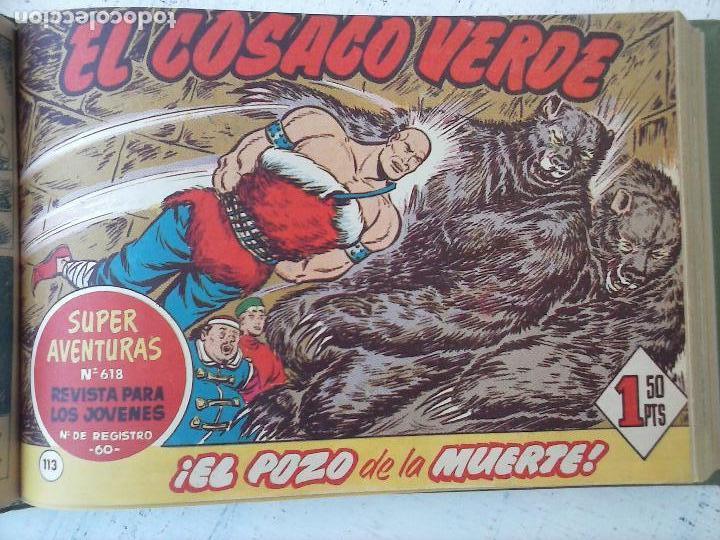Tebeos: EL COSACO VERDE COMPLETA ORIGINAL 1 A 144 - EN MAGNÍFICO ESTADO, VER NUMEROSAS IMÁGENES, DE LUJO - Foto 209 - 125098099