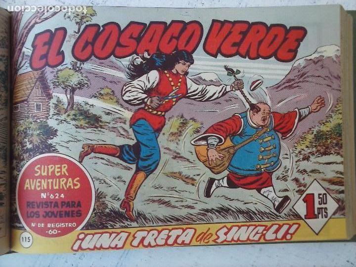 Tebeos: EL COSACO VERDE COMPLETA ORIGINAL 1 A 144 - EN MAGNÍFICO ESTADO, VER NUMEROSAS IMÁGENES, DE LUJO - Foto 215 - 125098099