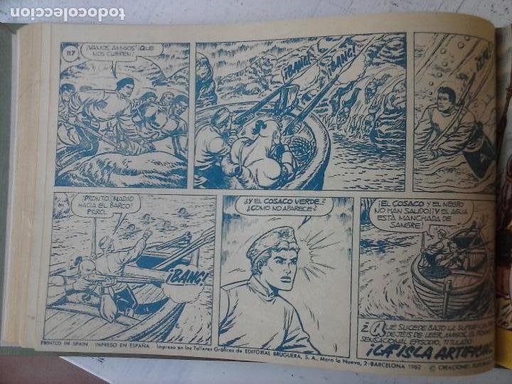 Tebeos: EL COSACO VERDE COMPLETA ORIGINAL 1 A 144 - EN MAGNÍFICO ESTADO, VER NUMEROSAS IMÁGENES, DE LUJO - Foto 220 - 125098099