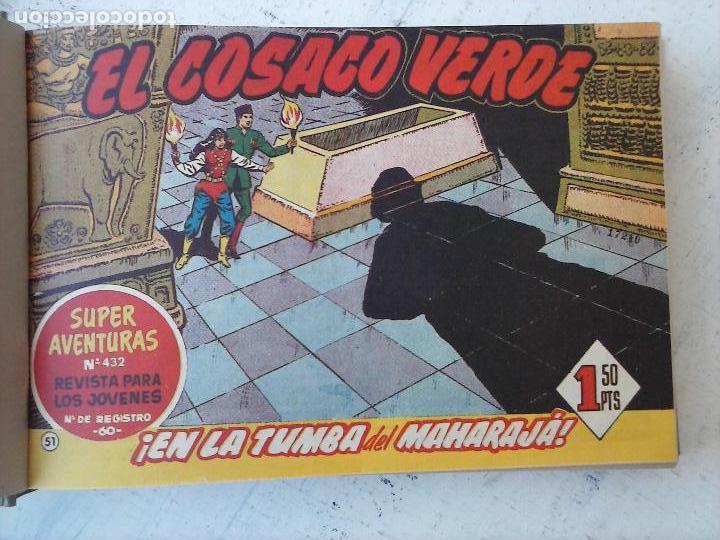 Tebeos: EL COSACO VERDE COMPLETA ORIGINAL 1 A 144 - EN MAGNÍFICO ESTADO, VER NUMEROSAS IMÁGENES, DE LUJO - Foto 225 - 125098099