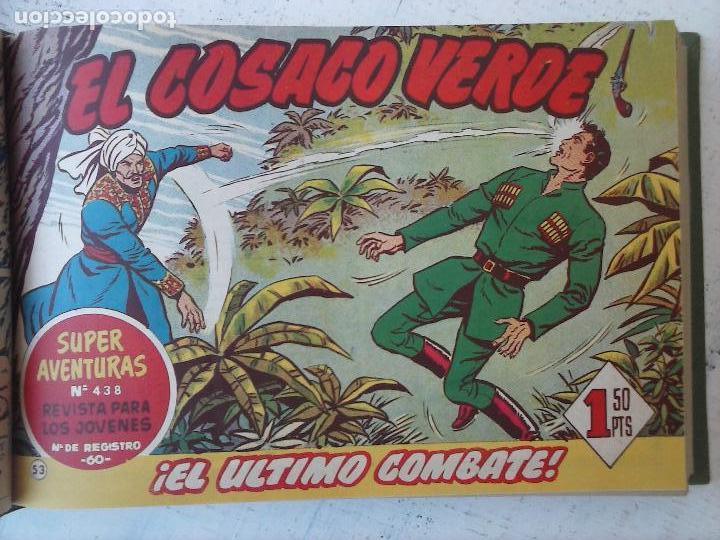 Tebeos: EL COSACO VERDE COMPLETA ORIGINAL 1 A 144 - EN MAGNÍFICO ESTADO, VER NUMEROSAS IMÁGENES, DE LUJO - Foto 229 - 125098099