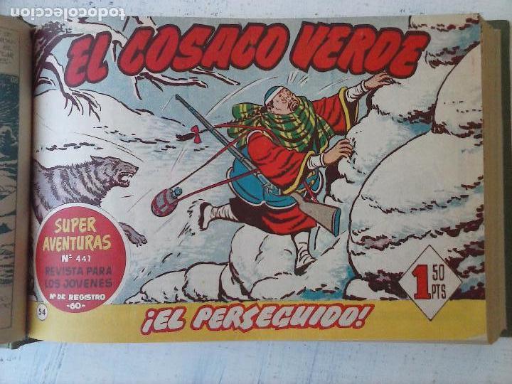 Tebeos: EL COSACO VERDE COMPLETA ORIGINAL 1 A 144 - EN MAGNÍFICO ESTADO, VER NUMEROSAS IMÁGENES, DE LUJO - Foto 231 - 125098099