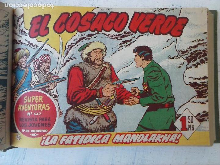 Tebeos: EL COSACO VERDE COMPLETA ORIGINAL 1 A 144 - EN MAGNÍFICO ESTADO, VER NUMEROSAS IMÁGENES, DE LUJO - Foto 234 - 125098099