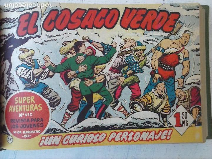 Tebeos: EL COSACO VERDE COMPLETA ORIGINAL 1 A 144 - EN MAGNÍFICO ESTADO, VER NUMEROSAS IMÁGENES, DE LUJO - Foto 236 - 125098099
