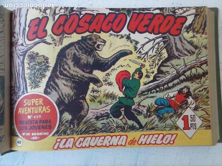 Tebeos: EL COSACO VERDE COMPLETA ORIGINAL 1 A 144 - EN MAGNÍFICO ESTADO, VER NUMEROSAS IMÁGENES, DE LUJO - Foto 240 - 125098099