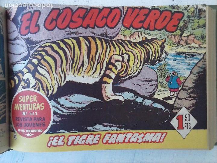 Tebeos: EL COSACO VERDE COMPLETA ORIGINAL 1 A 144 - EN MAGNÍFICO ESTADO, VER NUMEROSAS IMÁGENES, DE LUJO - Foto 244 - 125098099