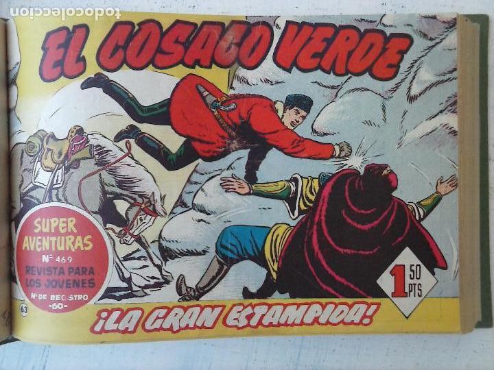 Tebeos: EL COSACO VERDE COMPLETA ORIGINAL 1 A 144 - EN MAGNÍFICO ESTADO, VER NUMEROSAS IMÁGENES, DE LUJO - Foto 246 - 125098099