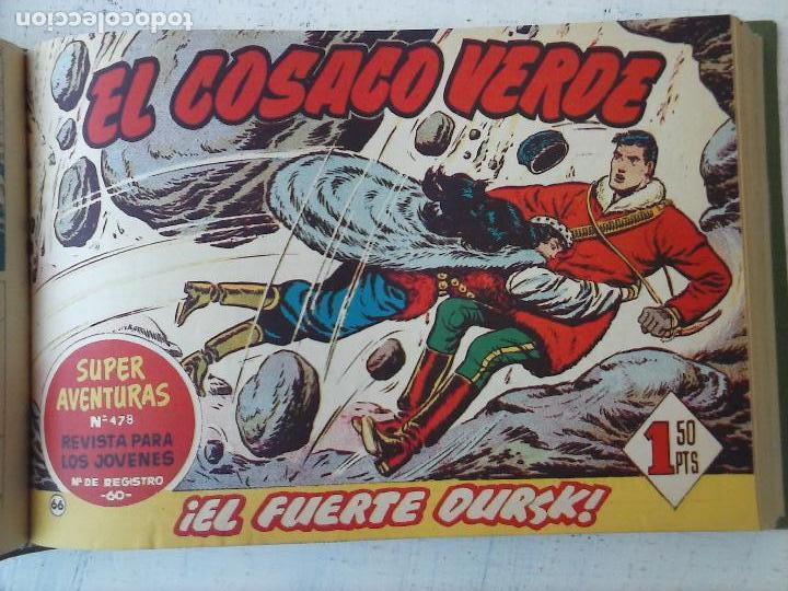Tebeos: EL COSACO VERDE COMPLETA ORIGINAL 1 A 144 - EN MAGNÍFICO ESTADO, VER NUMEROSAS IMÁGENES, DE LUJO - Foto 251 - 125098099