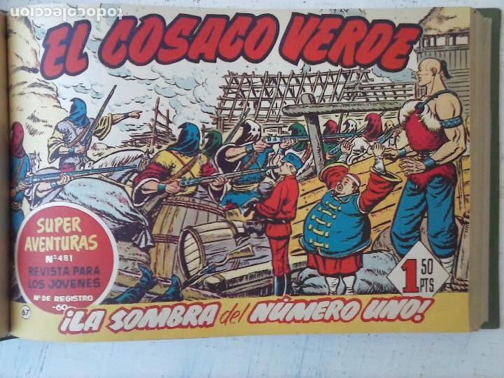 Tebeos: EL COSACO VERDE COMPLETA ORIGINAL 1 A 144 - EN MAGNÍFICO ESTADO, VER NUMEROSAS IMÁGENES, DE LUJO - Foto 252 - 125098099