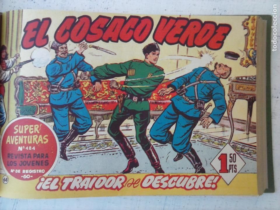 Tebeos: EL COSACO VERDE COMPLETA ORIGINAL 1 A 144 - EN MAGNÍFICO ESTADO, VER NUMEROSAS IMÁGENES, DE LUJO - Foto 253 - 125098099