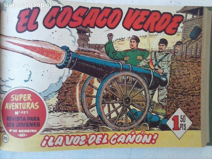 Tebeos: EL COSACO VERDE COMPLETA ORIGINAL 1 A 144 - EN MAGNÍFICO ESTADO, VER NUMEROSAS IMÁGENES, DE LUJO - Foto 254 - 125098099