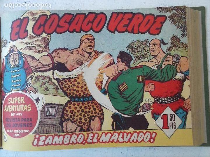 Tebeos: EL COSACO VERDE COMPLETA ORIGINAL 1 A 144 - EN MAGNÍFICO ESTADO, VER NUMEROSAS IMÁGENES, DE LUJO - Foto 256 - 125098099