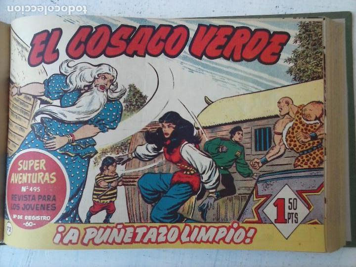 Tebeos: EL COSACO VERDE COMPLETA ORIGINAL 1 A 144 - EN MAGNÍFICO ESTADO, VER NUMEROSAS IMÁGENES, DE LUJO - Foto 261 - 125098099