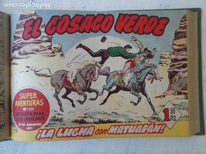 Tebeos: EL COSACO VERDE COMPLETA ORIGINAL 1 A 144 - EN MAGNÍFICO ESTADO, VER NUMEROSAS IMÁGENES, DE LUJO - Foto 262 - 125098099