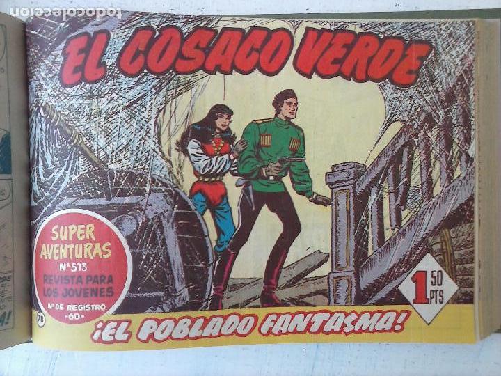 Tebeos: EL COSACO VERDE COMPLETA ORIGINAL 1 A 144 - EN MAGNÍFICO ESTADO, VER NUMEROSAS IMÁGENES, DE LUJO - Foto 271 - 125098099